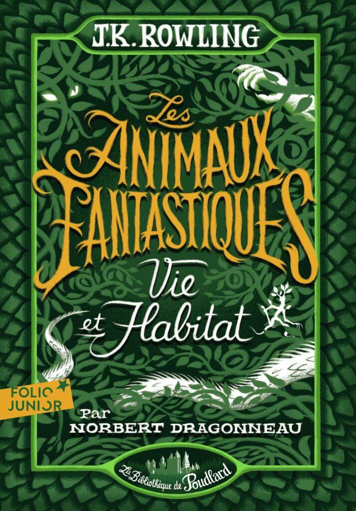 Couverture Les Animaux Fantastiques Vie et Habitat chez Gallimard Jeunesse par Bruno Liance