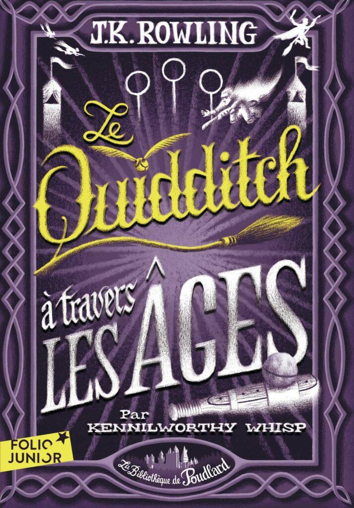 Couverture du livre Le Quididtch à Travers les Ages chez Gallimard Jeunesse par Bruno Liance