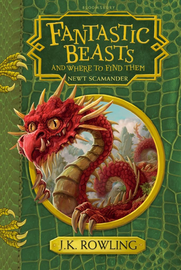 Fantastic Beasts and where to find them - Les animaux fantastiques : vie et habitat - UK Jonny Duddle 2017