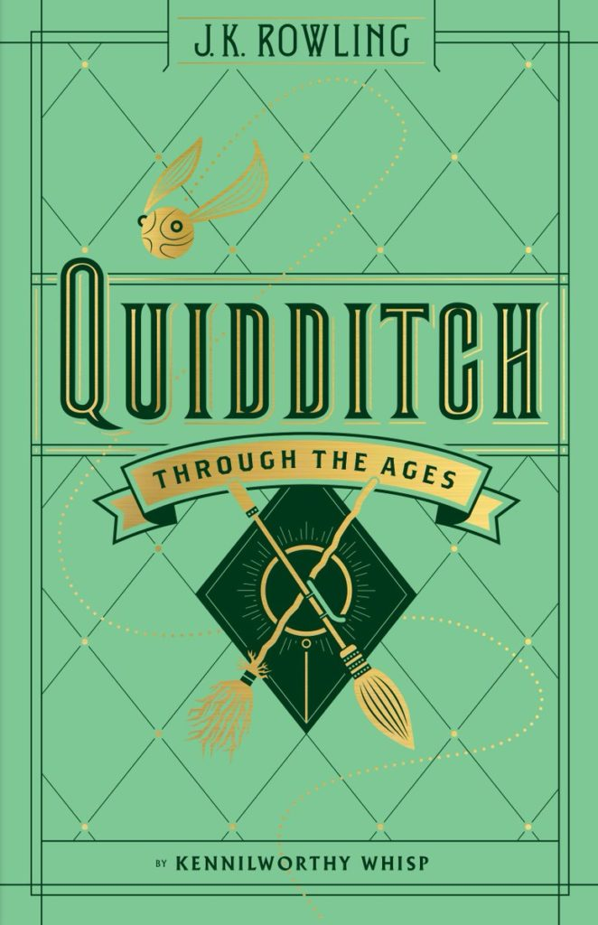 Quidditch Through the ages - Le quididtch à travers les âges - Scholastic US 2017