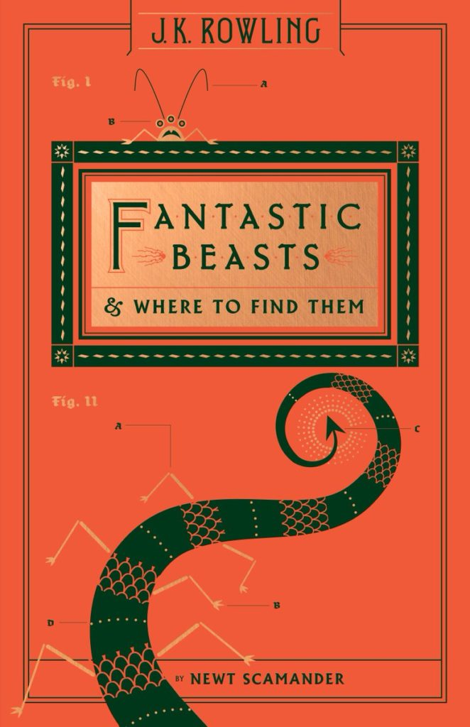 Fantastic Beasts & where to find them - Les animaux fantastiques : vie et habitat - Scholastic US 2017