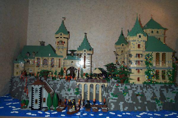 Schloss Hogwarts (Chateau de Poudlard) -partie1