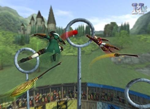 Premières photos du jeu Coupe du Monde de quidditch