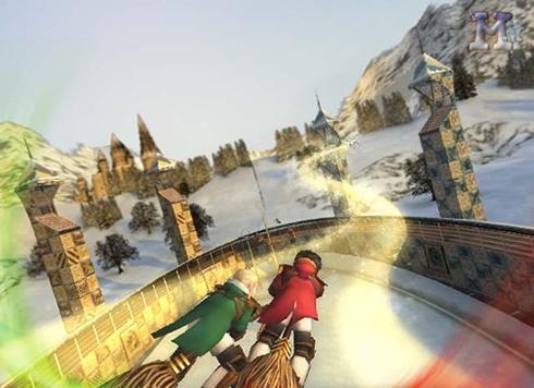 Coupe du Monde de quidditch jeu vidéo attrapeurs