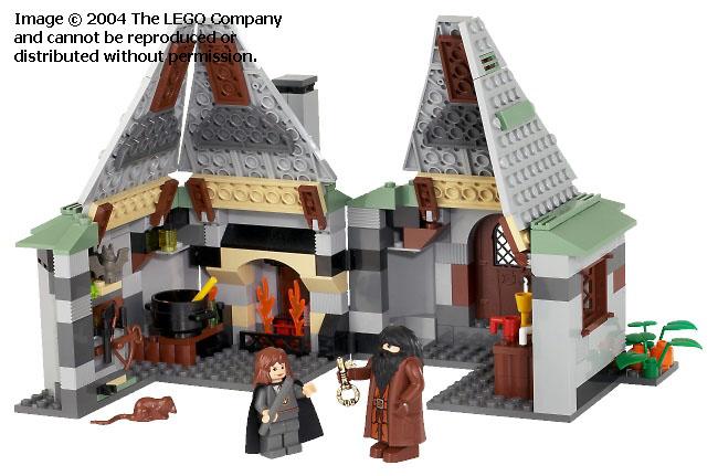 LEGO Cabane de Hagrid 2004