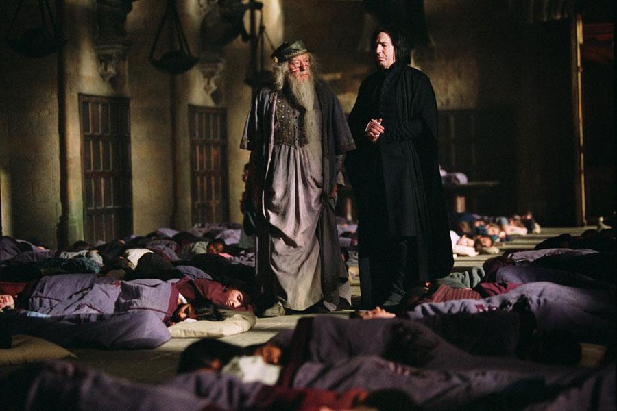 Severus Rogue et Albus Dumbledore