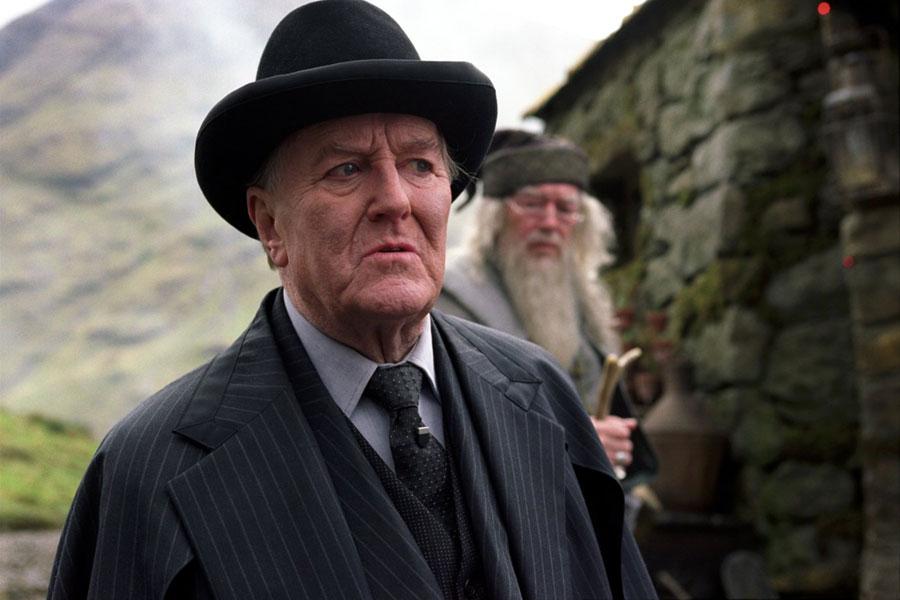 Cornelius Fudge et Albus Dumbledore