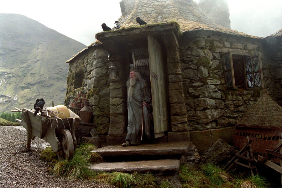 La cabane d'Hagrid