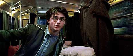 Harry dans le Magicobus