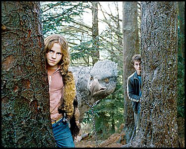 Harry, Hermione et Buck