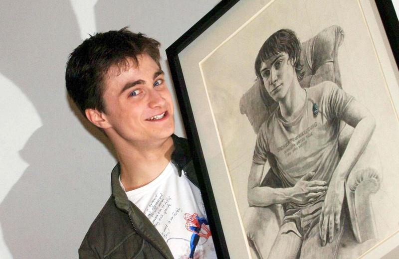 Daniel Radcliffe à la National Portrait Gallery