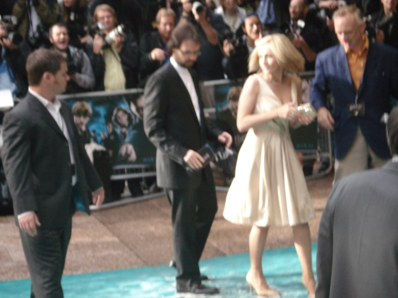 JK Rowling avant-première HP5 Londres