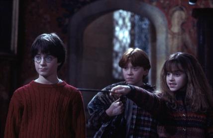 Hermione pétrifie Neville
