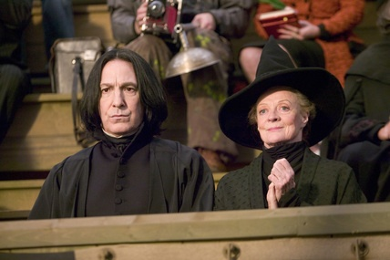 McGonagall et Rogue à la troisième tâche