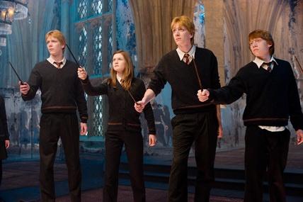 Les Weasley à l'A.D.
