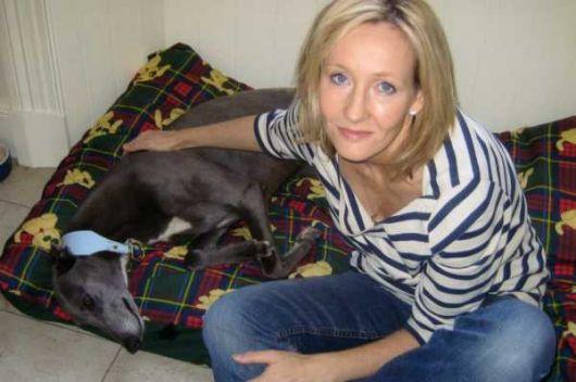 J.K. Rowling adopte un lévrier