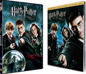 Harry Potter et l'ordre du phénix : les jaquettes des DVD