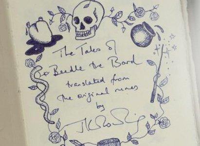 J.K. Rowling compare Beedle le Barde aux contes moldus