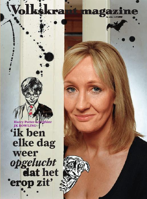 Interview de J.K. Rowling à l'occasion de la sortie néerlandaise