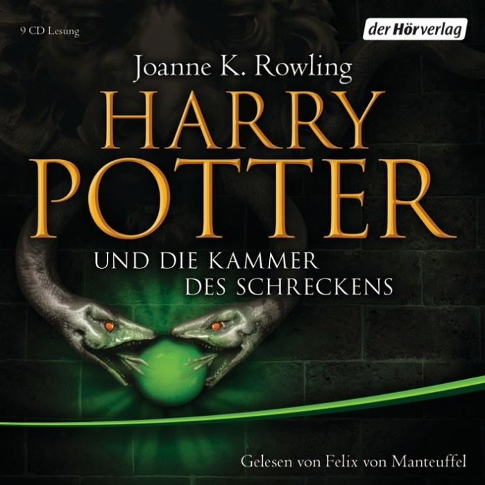 Harry Potter und die Kammer des Schreckens - Audiolivre allemand HP2
