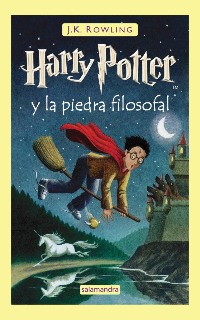 Couverture de Harry Potter à l'école des sorciers en Espagne, tome 1