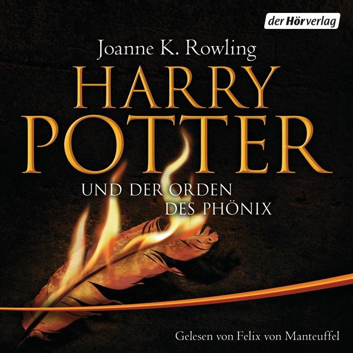 Harry Potter und der Orden des Phönix - Audiolivre allemand HP5