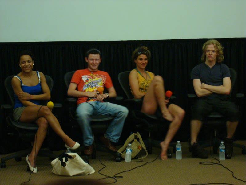 Les acteurs Natalia Tena, Devon Murray, Hugh Mitchell et Danielle Tabor parlent des films Harry Potter