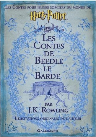 La couverture de Beedle le Barde en français