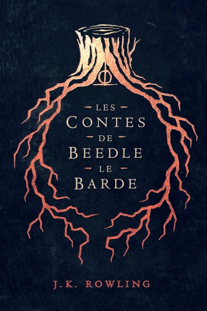 Les Contes de Beedle le Barde - Couverture Olly Moss