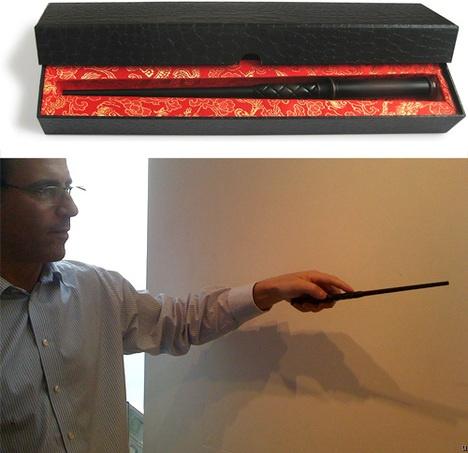 Les Moldus créent une baguette magique pour changer de chaîne.