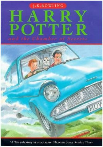 Royaume-Uni : Harry Potter and the Chamber of Secrets (version enfant)