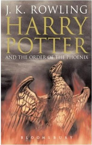 Royaume-Uni : Harry Potter and the Ordre of the Phoenix (version pour adultes)
