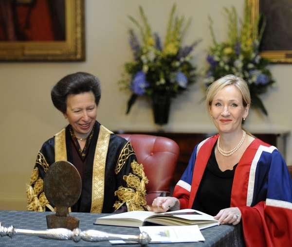 L'Université d'Edimbourg récompense Jo