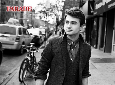 Daniel Radcliffe dans le magazine Parade