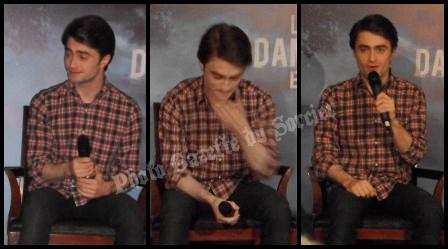 Conférence de presse avec Daniel Radcliffe