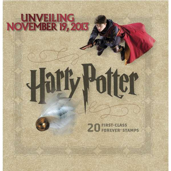 Nouveaux timbres Harry Potter américains