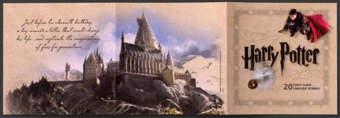 Dans les coulisses des timbres Harry Potter américains.
