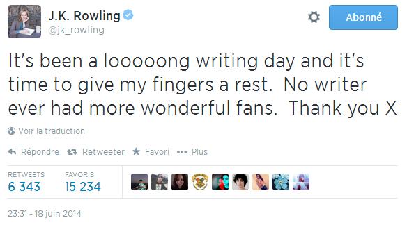 J.K Rowling prépare-t-elle une annonce importante ?