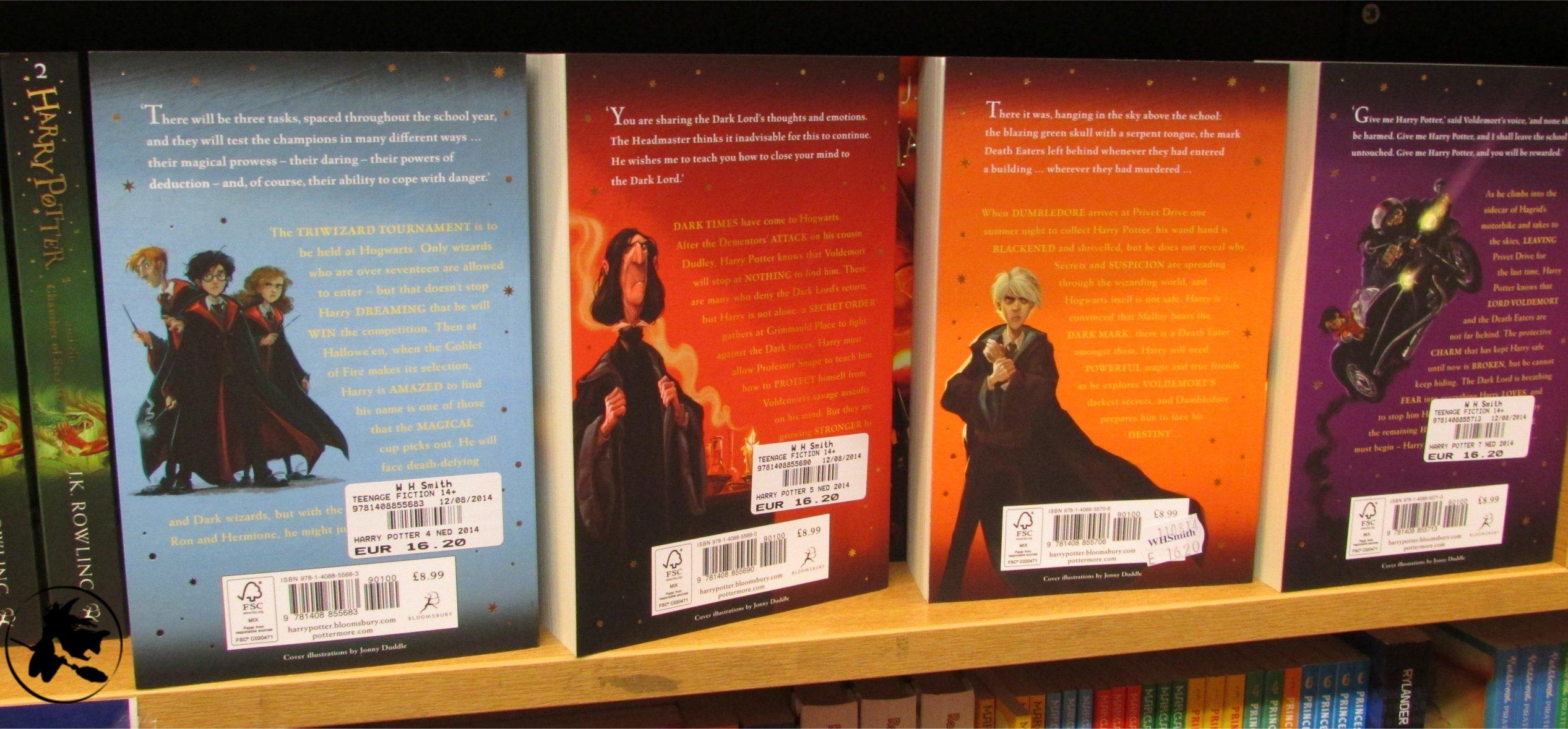 Exclusif : contenu des nouvelles éditions Bloomsbury !