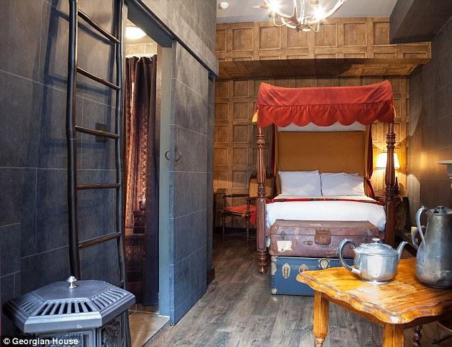 Chambres à thème Harry Potter dans un hôtel londonien