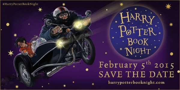 Bloomsbury lance la Harry Potter Book Night !
