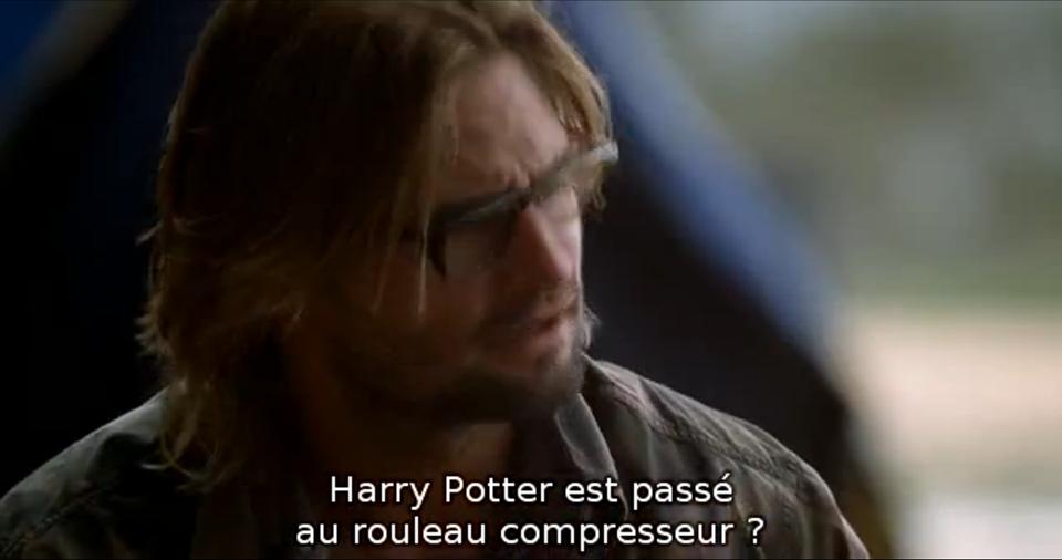 Référence à Harry Potter dans la série Lost