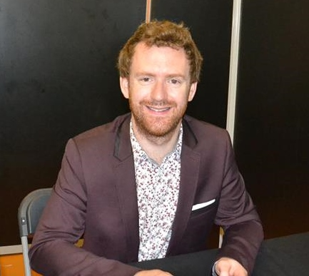 Rencontre avec Chris Rankin à Paris Manga