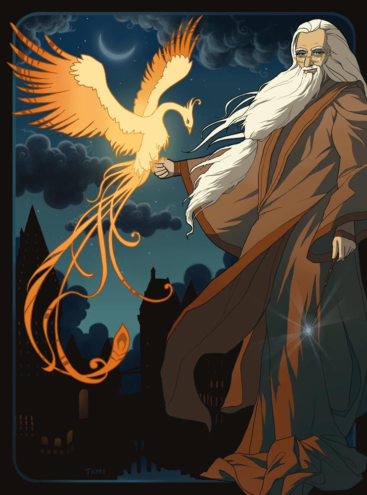 Dumbledore ; Tout un discours en quatre mots.
