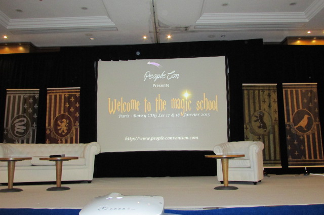 Convention Welcome To The Magic School : Compte rendu Jour 1