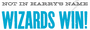 La campagne de la HP Alliance, Not In Harry's name, a atteint son but !