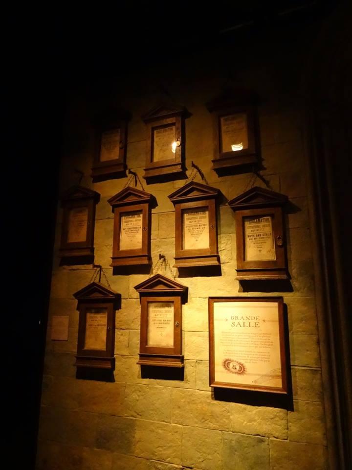 Les décrets d'Ombrage lors de l'inauguration de L'exposition itinérante Harry Potter à Paris