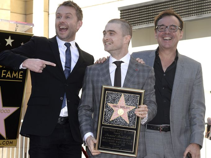 Daniel Radcliffe honoré sur le Walk of Fame d'Hollywood