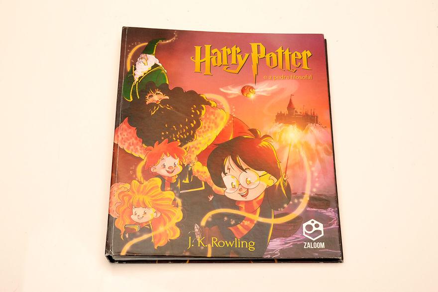 Harry Potter illustré par des étudiants brésiliens