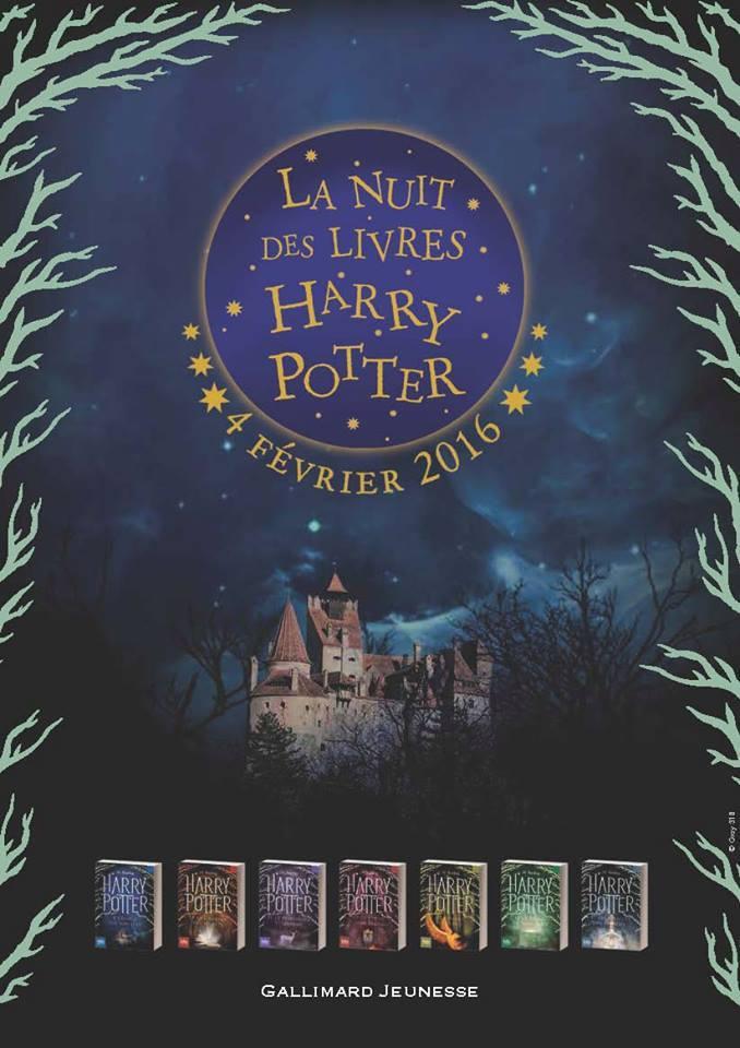 [MàJ] Harry Potter Book Night en France ; librairies non-participantes listées